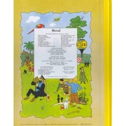 Tintin album: Tintin et les Picaros Edition fac-similé colours 1976