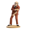 Collectible figurine Tintin, Rastapopoulos tattoo 12cm + Booklet ES Nº09 (2012)