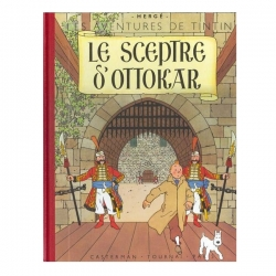 Album de Tintin: Le sceptre d'Ottokar Edition fac-similé couleurs 1947