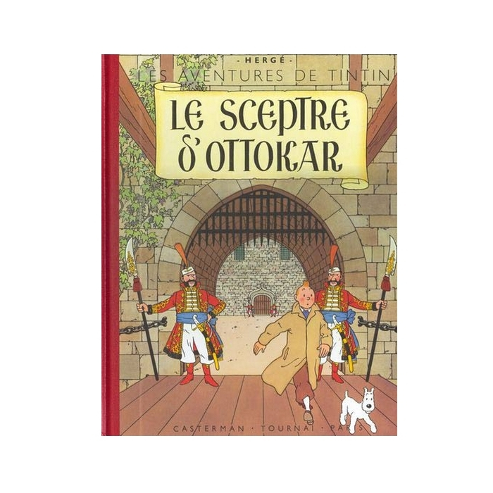 Tintin album: Le sceptre d'Ottokar Edition fac-similé colours 1947