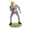 Collectible figurine Tintin, The Dr. J. W. Müller 12cm + Booklet ES Nº12 (2012)