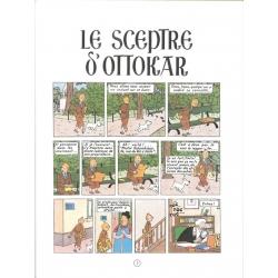 Álbum de Tintín: Le sceptre d'Ottokar Edición fac-similé colores 1947