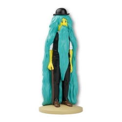 Figurine de collection Tintin, Dupont extraordinaire 14cm + Livret Nº15 (2012)