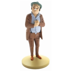 Collectible figurine Tintin, Oliveira Da Figueira 13cm + Booklet Nº16 (2012)