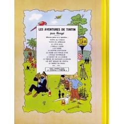 Tintin album: Le temple du soleil Edition fac-similé colours 1949