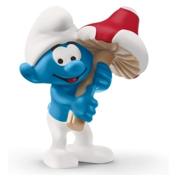 The Smurfs Schleich® Figure - Smurf with Lucky charm (20819)