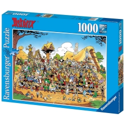 Puzzle de colección Ravensburger Astérix, la foto de familia (70x50cm)