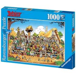 Puzzle de collection Ravensburger Astérix, la photo de famille (70x50cm)