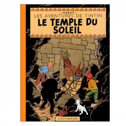 Album de Tintin: Le temple du soleil Edition fac-similé couleurs 1949