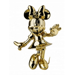 Figurine de collection Leblon-Delienne Disney Minnie Mouse Welcome (Chromée)