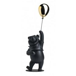 Figura de colección Leblon-Delienne Disney Winnie-the-Pooh (Negro Oro Mate)