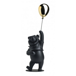Figurine de collection Leblon-Delienne Disney Winnie L'Ourson (Noir Or Mate)