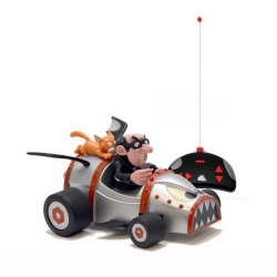 Remote controlled car Puppy RC Kart The Smurfs (Gargamel and Azrael)