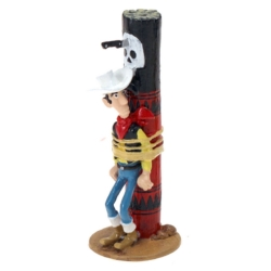Collectible figurine Pixi Lucky Luke tied to the torture pole 5487 (2020)