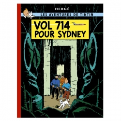 Tintin album: Vol 714 pour Sydney Edition fac-similé colours 1968