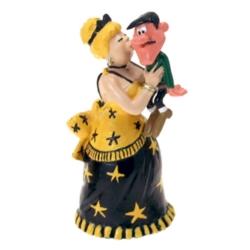 Figurine de collection Pixi Lucky Luke, Lulu Carabine et Joe Dalton 5495 (2020)