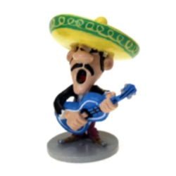 Collectible figurine Pixi Lucky Luke, Joe Dalton Mariachi 5497 (2020)