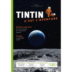 Moulinsart GEO Edition Tintin, c'est l'aventure Nº1, La conquête spatiale (2019)