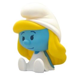 Hucha figura de colección Los Pitufos Chibi Plastoy, Pitufina 80099 (2020)