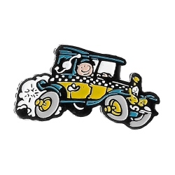 Collectible Pin's Gaston Lagaffe, The Fiat 509 (Dalix 91)