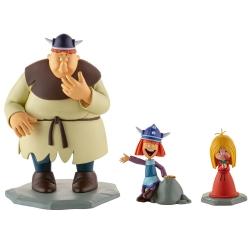 Figurines de collection LMZ Wickie le Viking: Vic, Ylvie et Faxe Nº1 (2020)