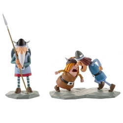 Figurines de collection LMZ Wickie le Viking: Urobe, Snorre et Tjure Nº3 (2020)