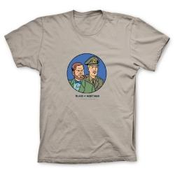 Camiseta 100% algodón Francis Percy Blake y Philip Mortimer Duo (Arena)