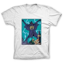 Camiseta 100% algodón Blake y Mortimer, La Marca Amarilla 1953 (Blanco)