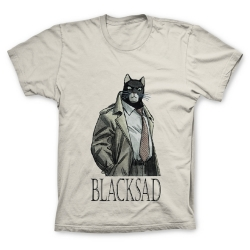 T-shirt 100% cotton John Blacksad (Sand)