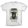 Camiseta 100% algodón John Blacksad, le matin... (Blanco)