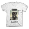 T-shirt 100% coton John Blacksad, le matin... (Blanc)