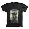 T-shirt 100% coton John Blacksad, le matin... (Noir)
