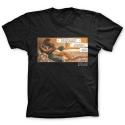 T-shirt 100% cotton Blacksad, Lover  (Black)