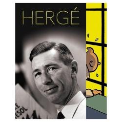 Postcard of the Hergé Exhibition at the Grand Palais Tintin 32284 (12,5x17,5cm)