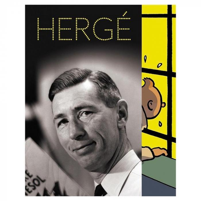 Postal de la exposición de Hergé en el Grand Palais Tintín 30085 (12,5x17,5cm)
