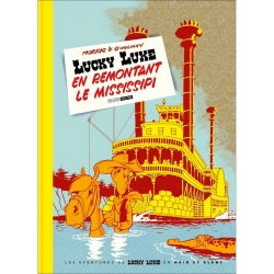 Álbum de lujo Black & White Lucky Luke: en remontant le Mississipi (2020)