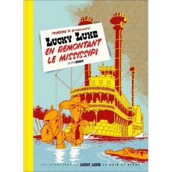 Album de luxe Black & White Lucky Luke: en remontant le Mississipi (2020)