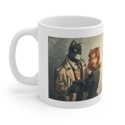 Taza mug en cerámica Blacksad (John y Natalia Willford)