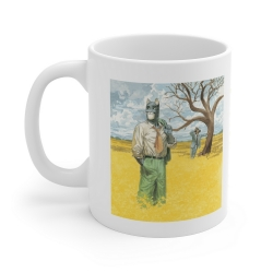 Ceramic mug Blacksad (Amarillo)