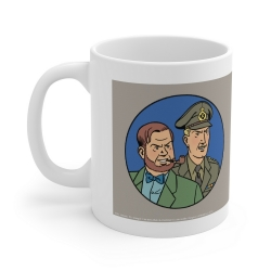 Ceramic mug Blake and Mortimer (Francis Percy Blake and Philip Mortimer Duo)