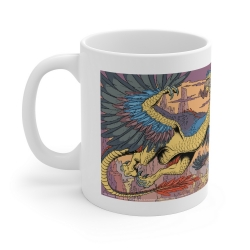 Tasse mug en céramique Blake et Mortimer (Vallée des immortels T2, le dragon)