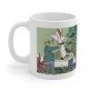 Taza mug en cerámica Blake y Mortimer (Valle de los inmortales T2, el accidente)