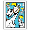 Poster offset Lucky Luke, Jolly Jumper Blue Expressions (28x35,5cm)