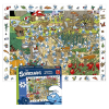 Puzzle Puppy Los Pitufos Cherche et Trouve 70 Piezas (65x49cm)