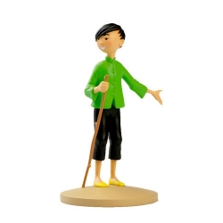 Figurine de collection Tintin, Tchang indique Hou Kou Moulinsart 42228 (2020)