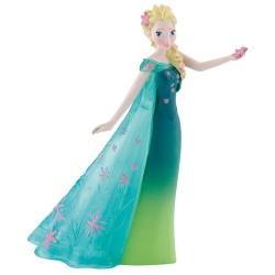 Figurita de colección Bully® Disney Frozen, Elsa Frozen Fever (12958)