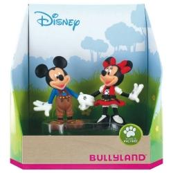 Figuritas de colección Bully® Disney - Mickey y Minnie Mouse Bavaria (15081)