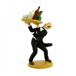 Figurine de collection Tintin Le majordome Nestor 15cm Moulinsart 42189 (2014)