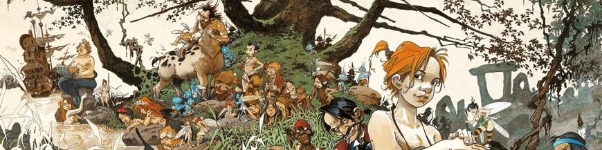 Figurines de BD Peter Pan