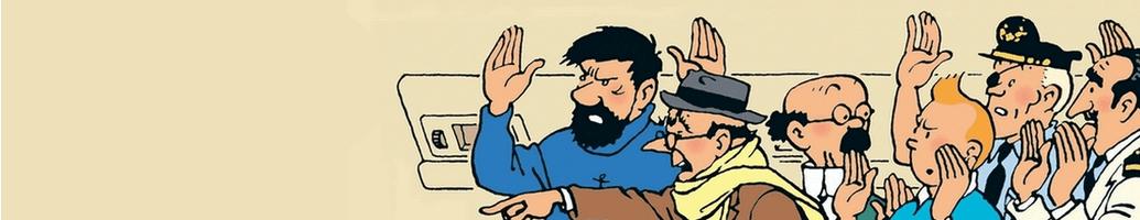 Tintin comics figurines and exclusive items